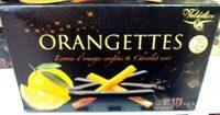 Orangettes - Produit - fr