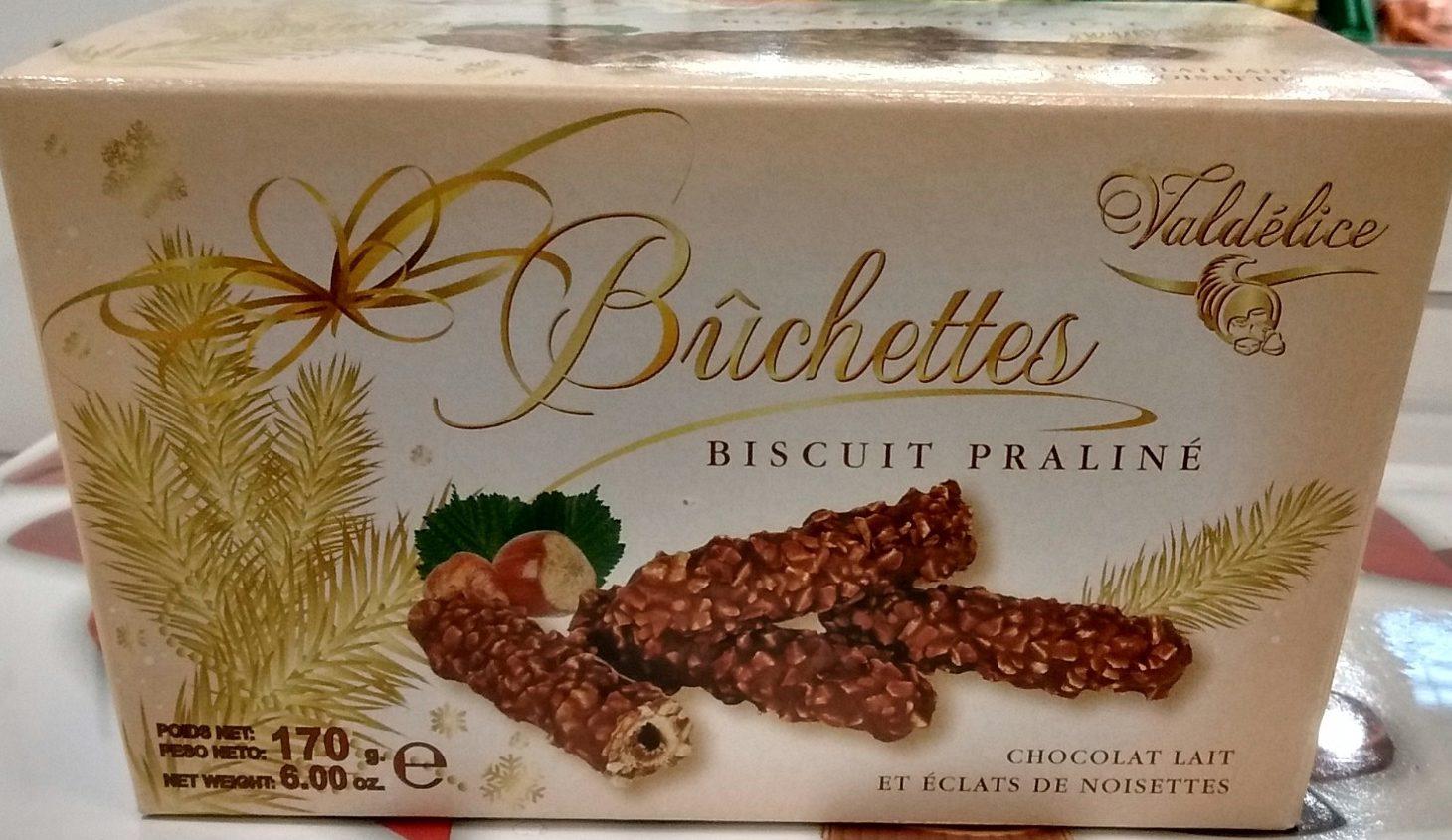 Bûchettes Biscuit Praliné - Produit - fr