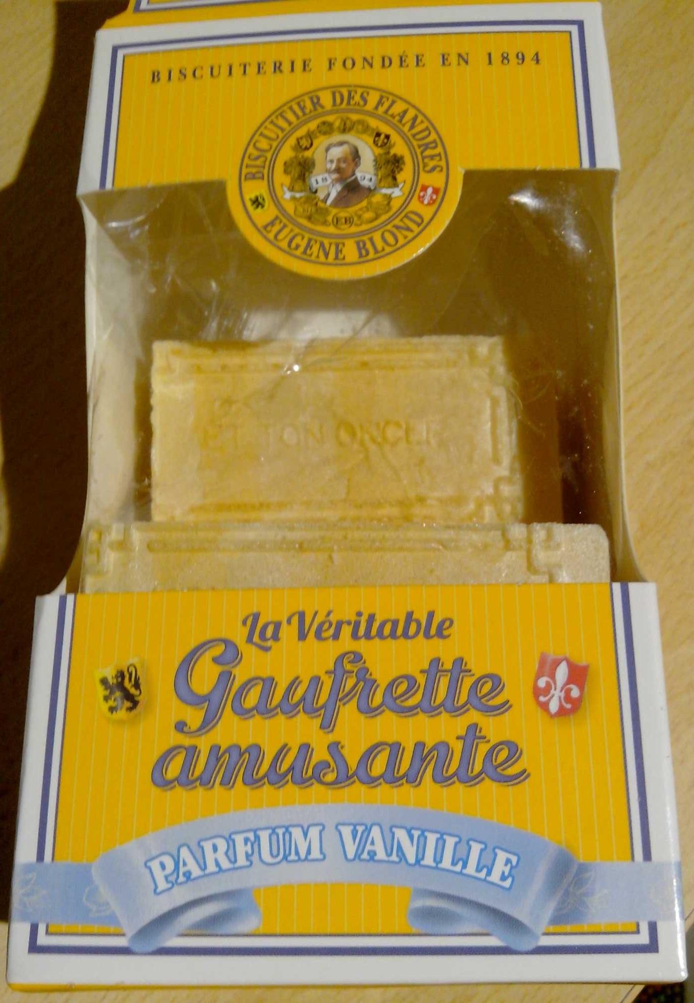 La Véritable Gaufrette amusante Parfum Vanille - Product