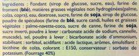 Gaufres Fourrées au Speculoos - Ingredients