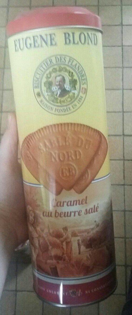 Sablés pur beurre au caramel beurre salé - Produit - fr