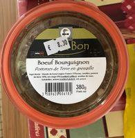 Bœuf Bourguignon, Pommes de Terre en Grenaille - Product - fr