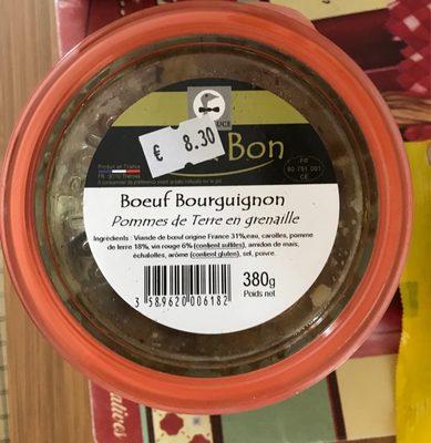 Bœuf Bourguignon, Pommes de Terre en Grenaille - Product