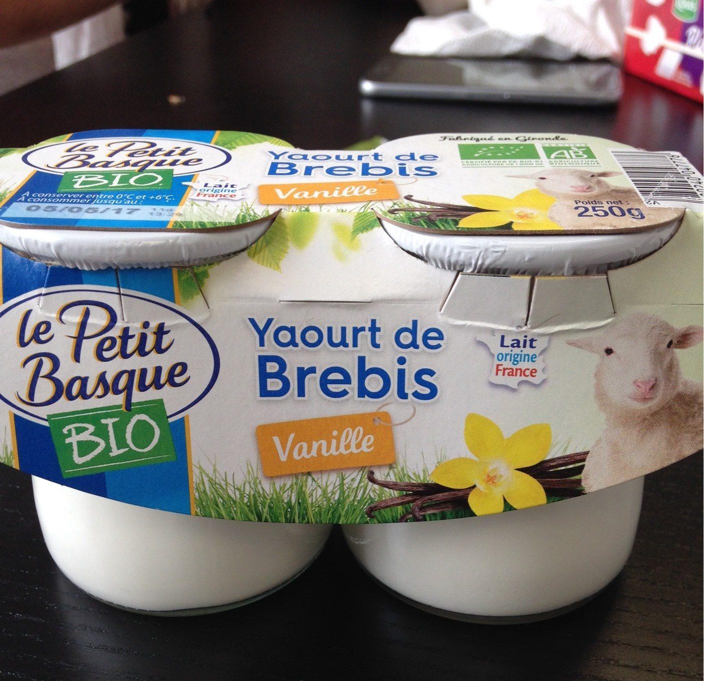 Yaourt de Brebis Vanille - Product - fr