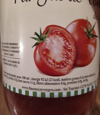 Pur jus de tomate de Marmande - Voedingswaarden