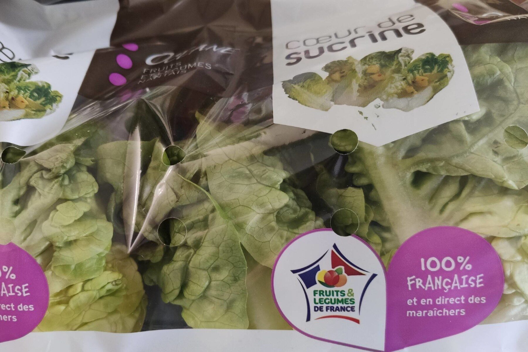 Salade, Variété Sucrine, Catégorie 1 - Product - fr