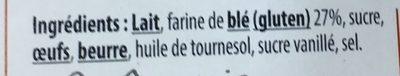 6 Crêpes, La Fine de Froment - Ingredients