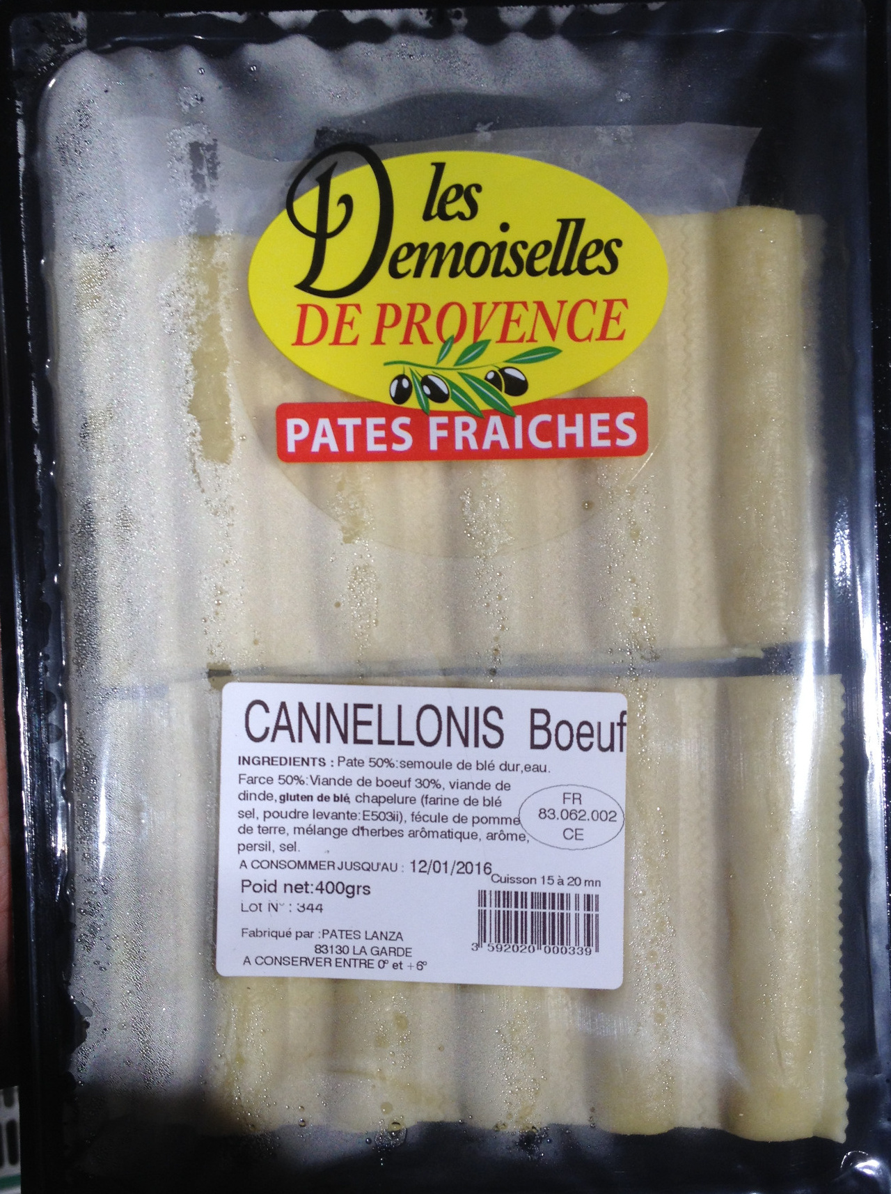 Cannellonis Boeuf - Produit - fr