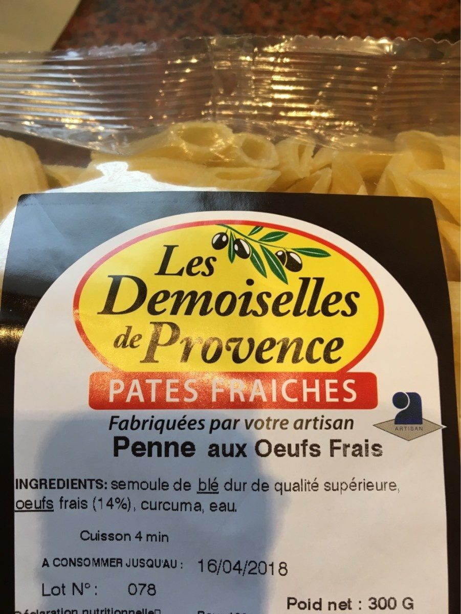 Pates fraiches - Prodotto - fr