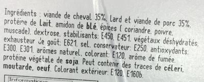 Chevalin - Ingrediënten