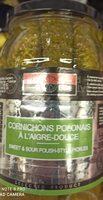 Cornichons polonais à l'aigre-douce - Product - fr