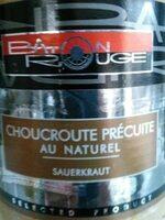 Choucroute Naturelle, 900 Grammes, Marque B Ton Rouge - Produit - fr