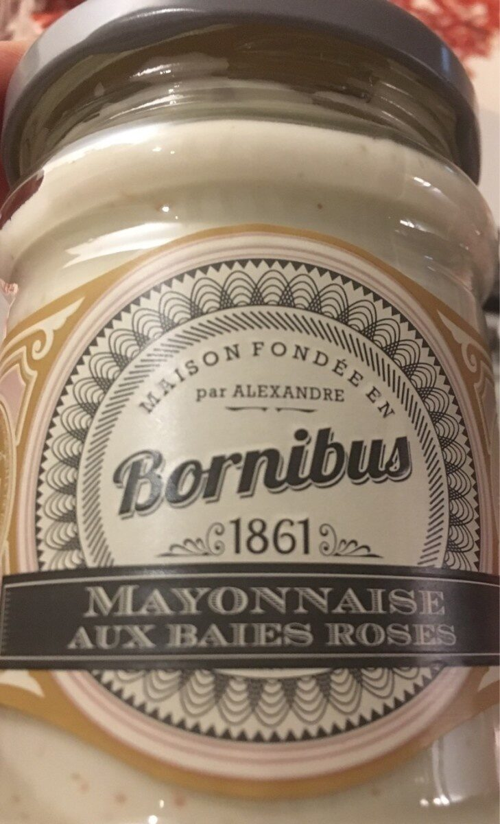 Mayonnaise aux baies roses - Product - fr