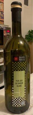 Pur jus de raisin blanc - Product - fr