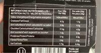 Feuilles de vigne farcies au riz - Informations nutritionnelles - fr