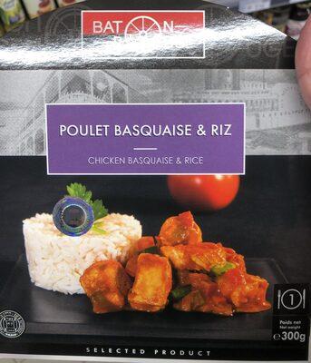 Poulet Basquaise & Riz - Product - fr