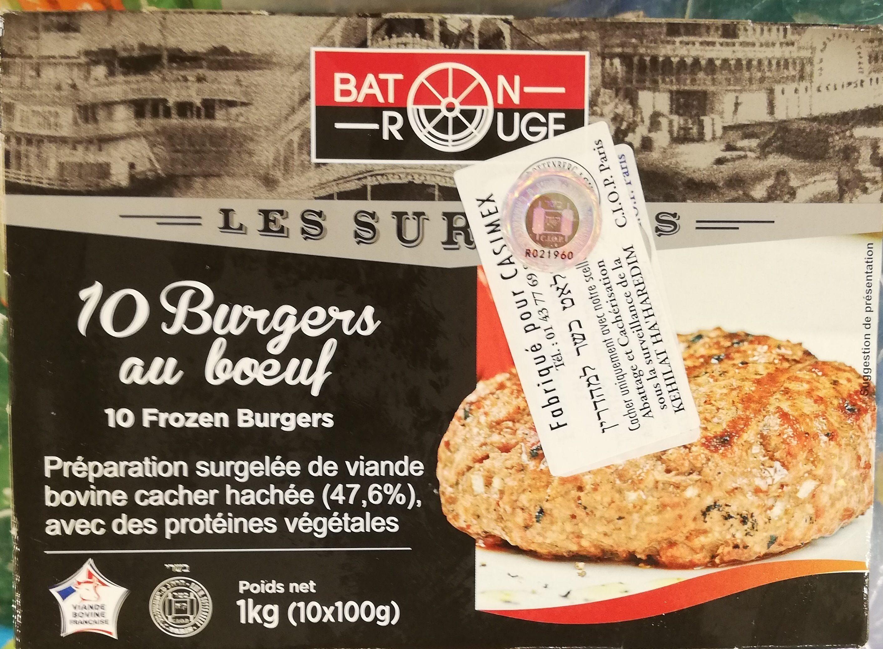 Baton rouge burger surgeles - Product - fr