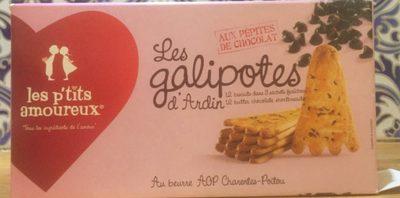 Les Galipotes d'Ardin aux Pépites de Chocolat - Produit