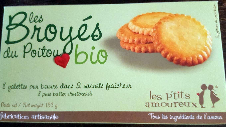 Les broyés du Poitou bio - Produit