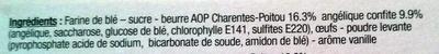 Les Galipotes d'Ardin à l'Angélique - Ingredients - fr