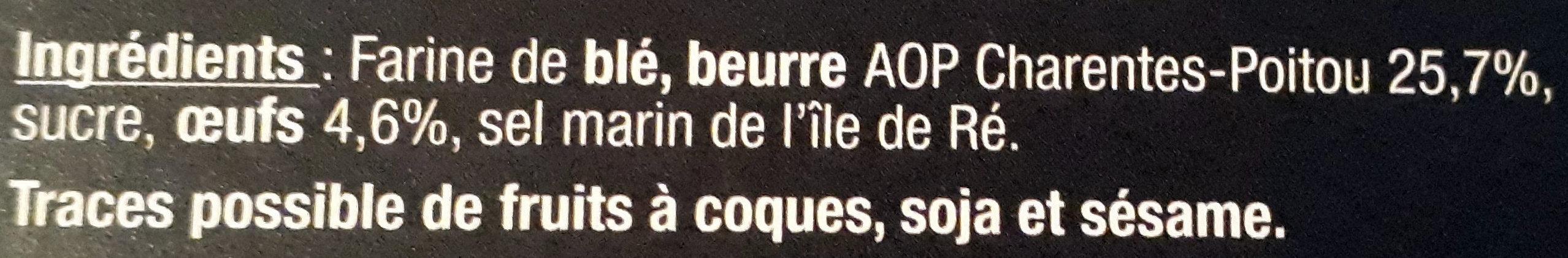Les broyés gourmands du Poitou - Nature - Ingredients - fr