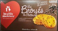 Les broyés du Poitou aux pépites de chocolat - Produit