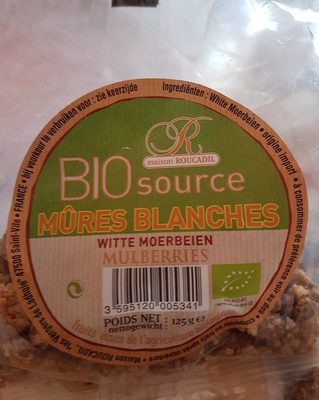 Mûres blanches - Product - fr