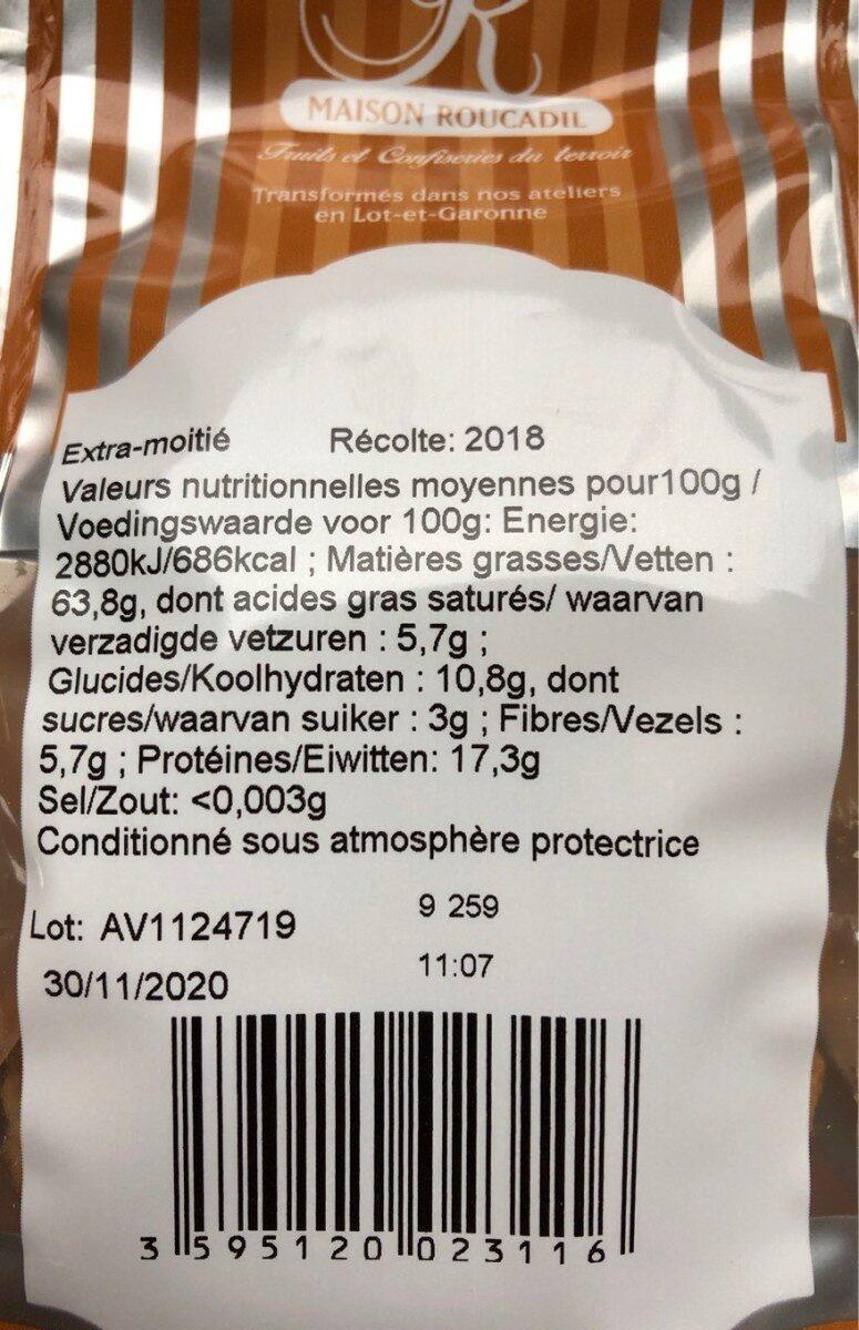 Noix du Périgord - Voedingswaarden