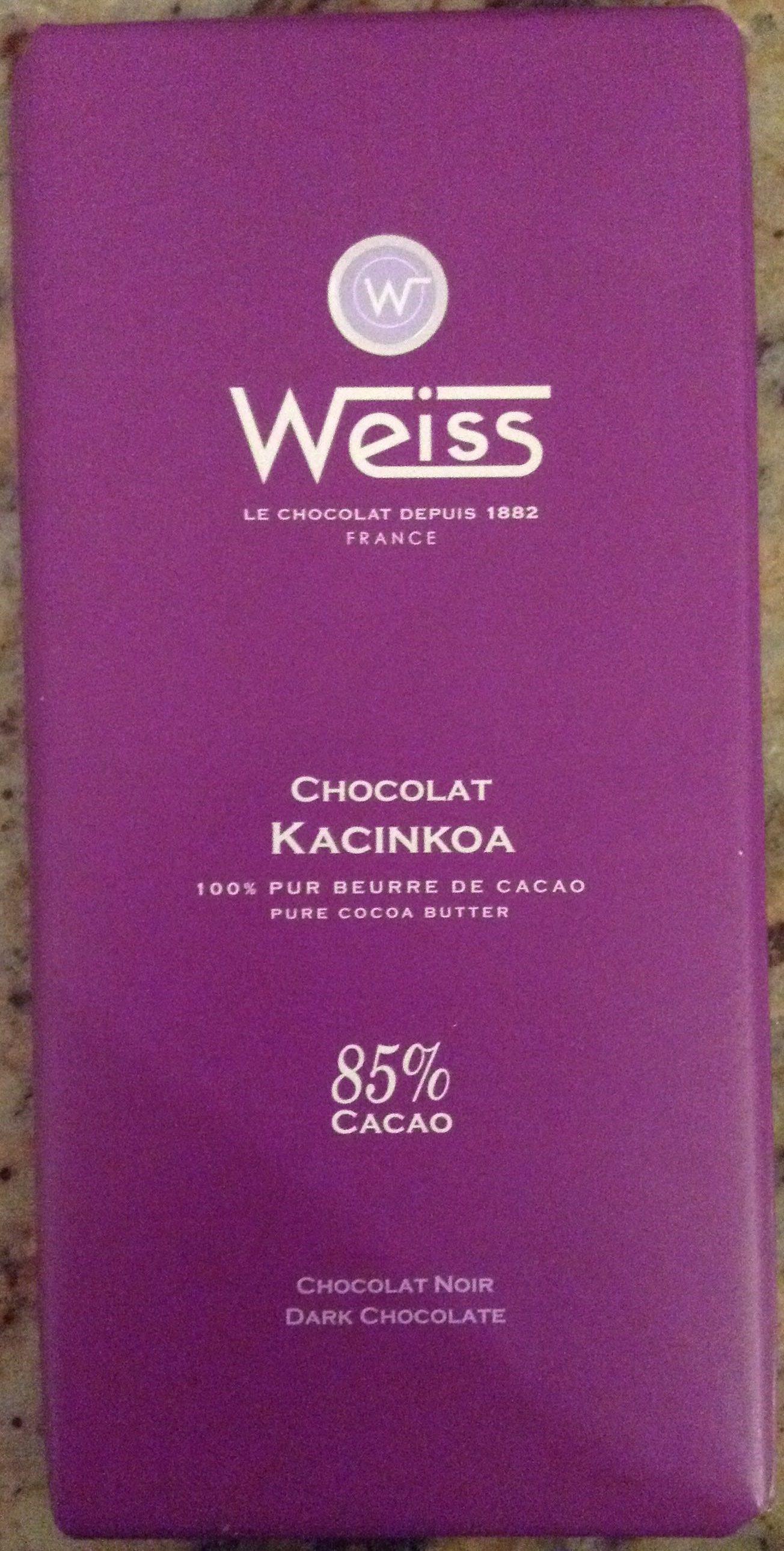 Chocolat Kacinto - Produit
