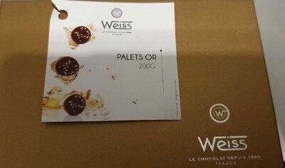 Palets or - Produit