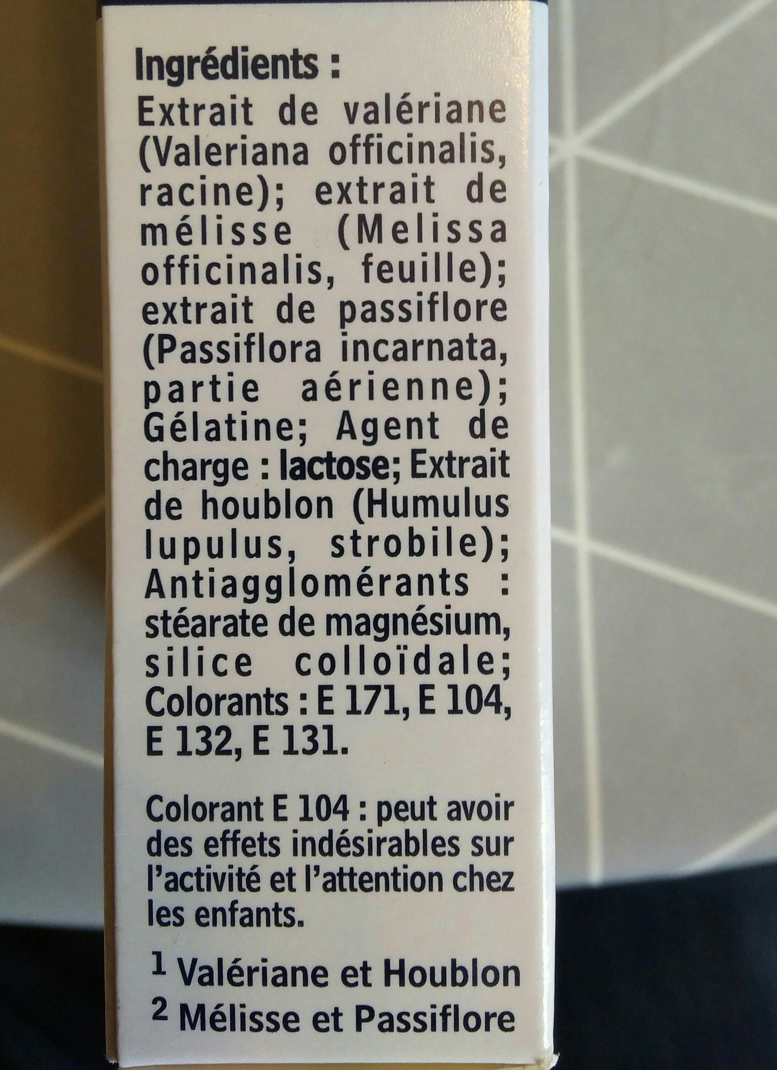 Cyclamax Sommeil Et Stress 32 Gélules - Ingrédients - fr