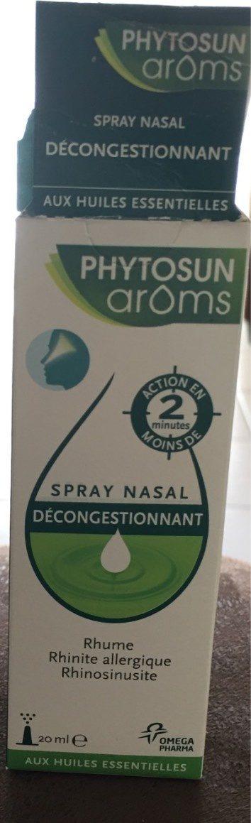 Phytosun Aroms Spray Nasal - Voedigswaarden