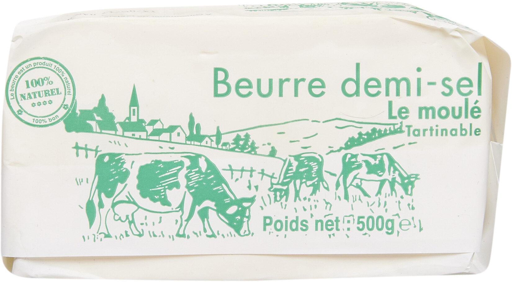 Beurre demi-sel le moulé - Produit - fr