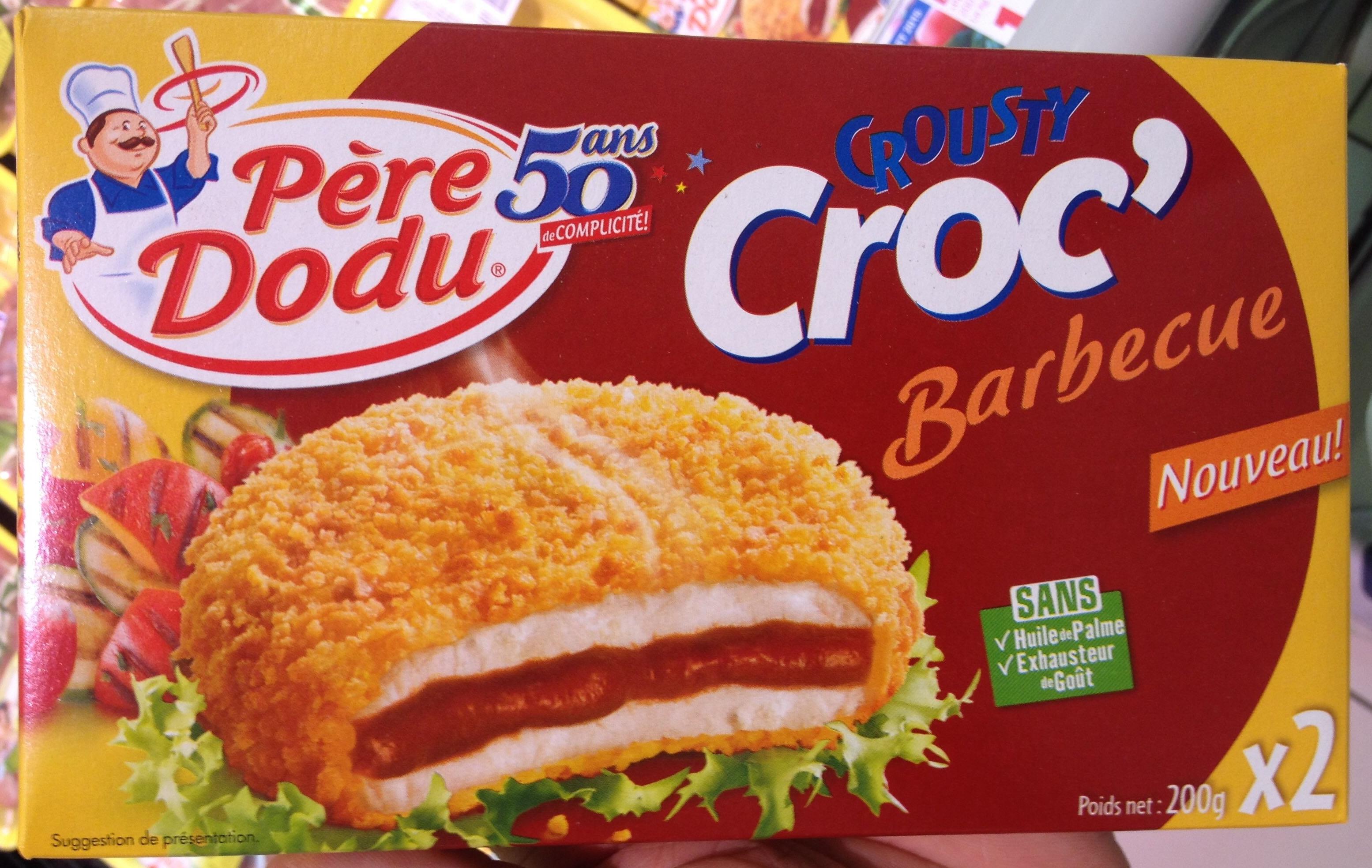 Crousty Croc' Barbecue (x 2) - Produit