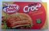 Crousty Croc' Bacon de dinde Cheddar - Produit