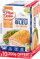 Cordon bleu de dinde - Prodotto - fr