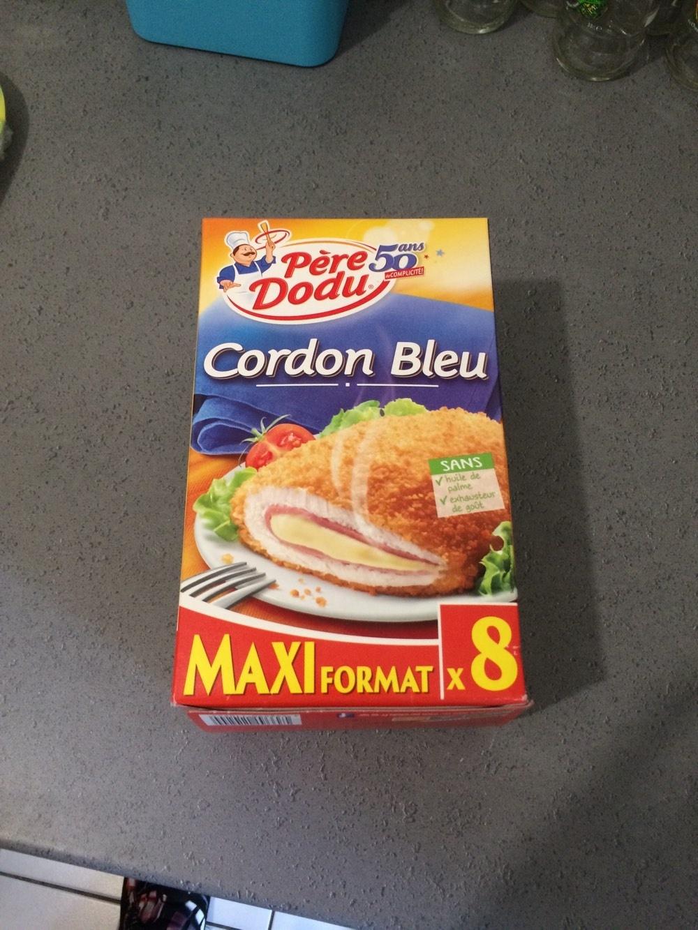 800G Escalope Cordon Bleu de Dinde Maxi Format Père Dodu - Product