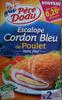 Escalope Cordon Bleu de Poulet (x 2) - Product