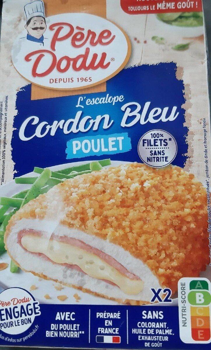 Escalope cordon bleu de poulet 100% filets - Produit - fr