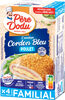Escalope cordon bleu de poulet 100% filets - Prodotto