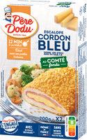 Escalope cordon bleu au comte fondu - Product - fr