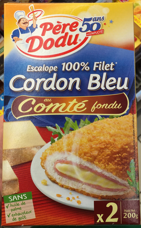 Cordon Bleu au Comté fondu (x 2) - Produit