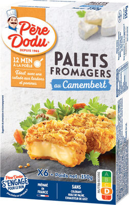 Palet fromager camembert - Prodotto - fr