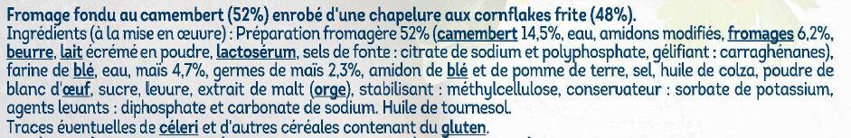 Palet fromager camembert - Ingredienti - fr