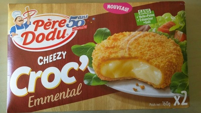 Cheezy croc emmental - Product