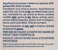Crousti Tenders aiguillettes - Ingrédients - fr
