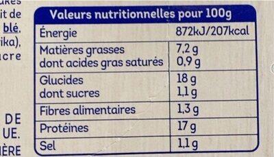 Crousti Tenders aiguillettes - Informations nutritionnelles - fr