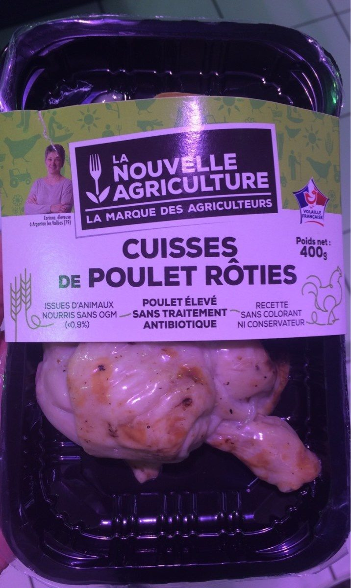 Cuisses de poulet rôties - Product