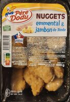Nuggets emmental et jambon de dinde - Product