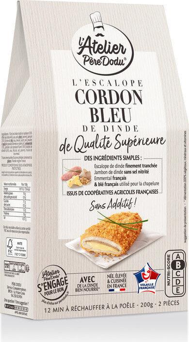 Escalope Cordon Bleu de qualité supérieure - Prodotto - fr